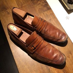 Magnanni Brown Loafers